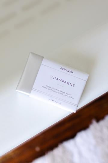 """Rewind"" Champagne Bar Soap"