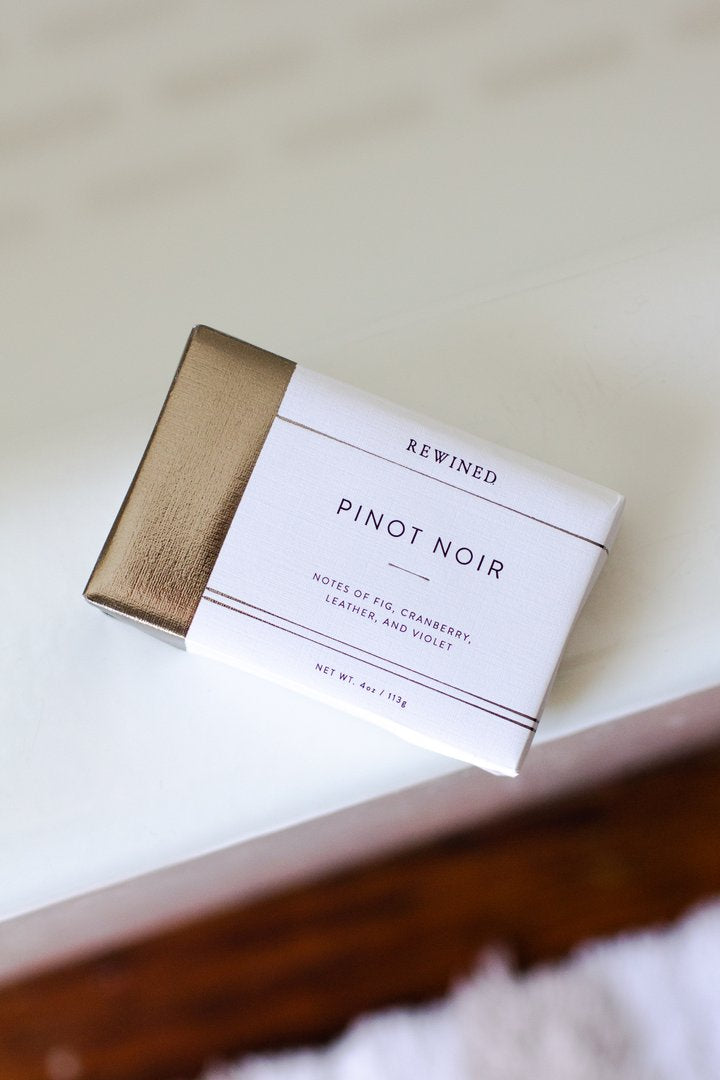 rewind pinot noir bar soap