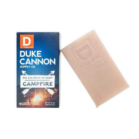 Duke Cannon Big Ass Brick of Soap Campfire