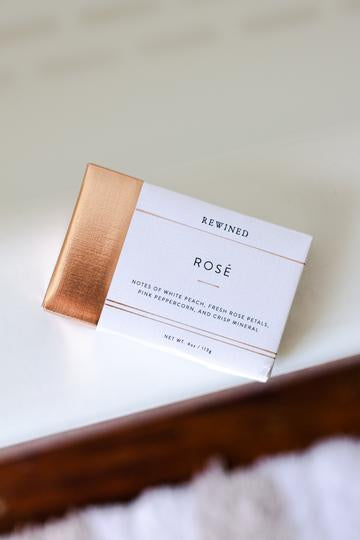 rewind rose bar soap