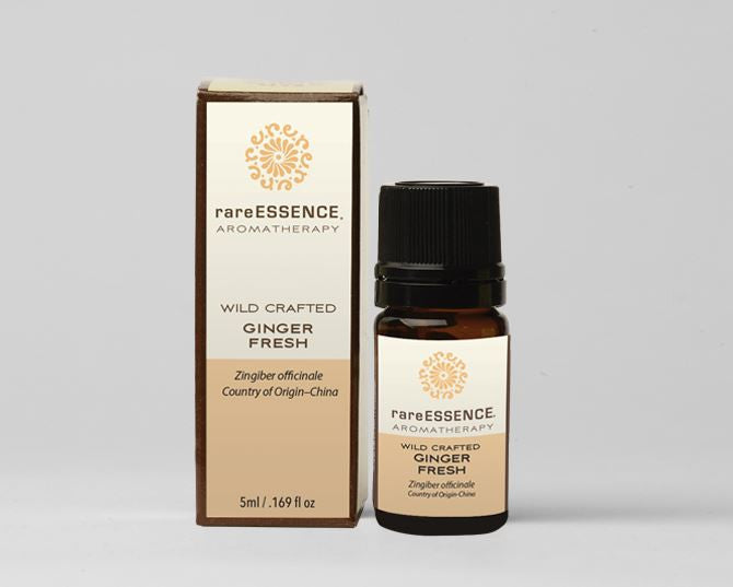 Rare Essence Organic Essential Oils - Ginger (Fresh)