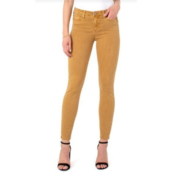 LIverpool jeans toasted Wheat abby skinny jean