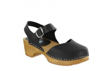 MIA Sofia Swedish Clog in Black