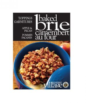 village gourmet apple & Pecan baked brie topping mix
