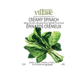 Village Gourmet Creamy spinach dip mix