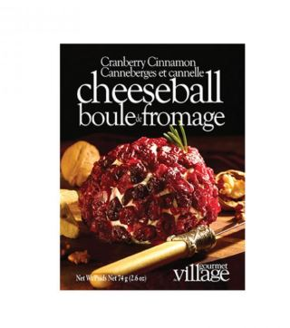 Village Gourmet Cranberry Cinnamon Cheeseball Mix