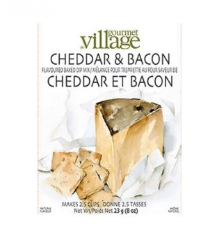 Village gourmet cheddar and bacon dip mix