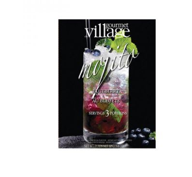 village gourmet blueberry mojito