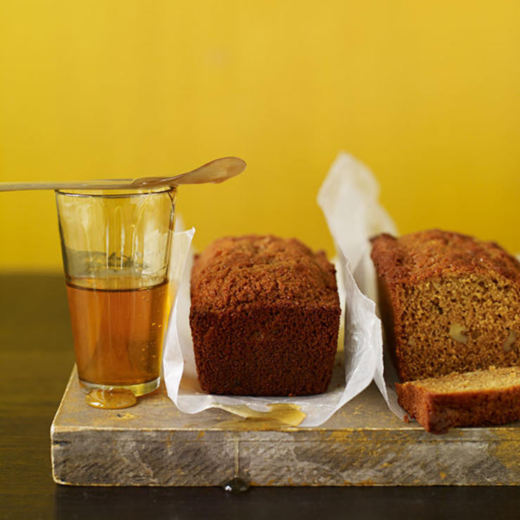 Honey whole-wheat mini loaves