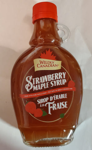 Strawberry Maple Syrup (250ml)