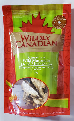 Canadian Wild Matsutake Dried Mushrooms