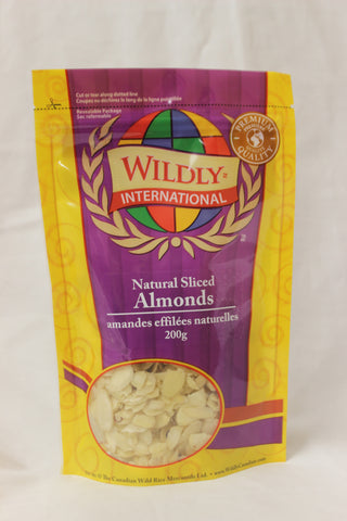 Natural Sliced Almonds - The Canadian Wild Rice Mercantile Ltd.