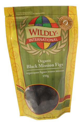 Organic Black Mission Figs - The Canadian Wild Rice Mercantile Ltd.