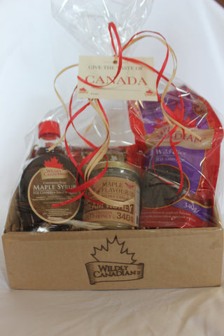 Taste of Canada Gift Package (large) - The Canadian Wild Rice Mercantile Ltd.