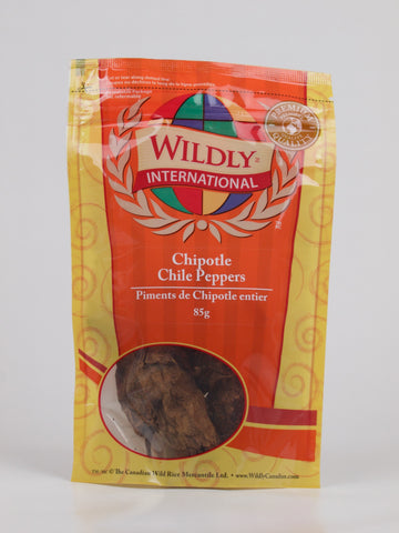 Chipotle Chile Peppers - The Canadian Wild Rice Mercantile Ltd.