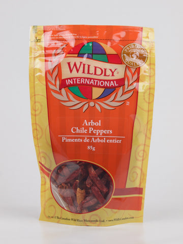 Arbol Chile Peppers - The Canadian Wild Rice Mercantile Ltd.