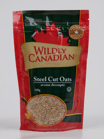 Steel Cut Oats(340g) - The Canadian Wild Rice Mercantile Ltd.