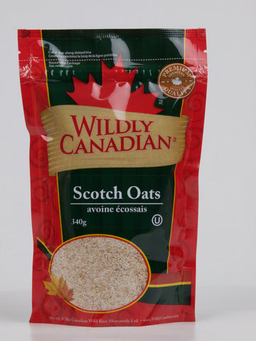 Scotch Oats(340g) - The Canadian Wild Rice Mercantile Ltd.