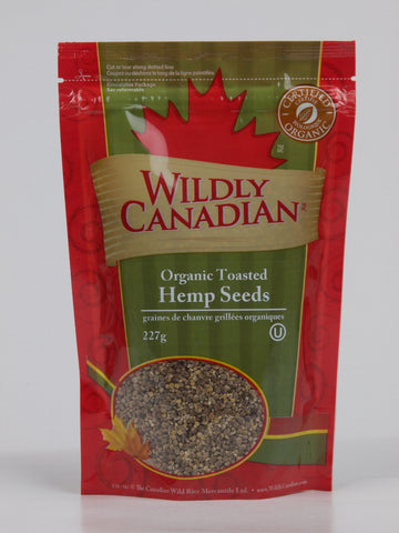 Organic Toasted Hemp Seeds - The Canadian Wild Rice Mercantile Ltd.