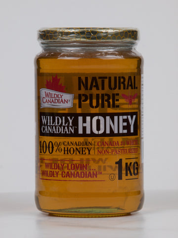 Non-pasteurized Natural Liquid Honey (500g/1kg) - The Canadian Wild Rice Mercantile Ltd.