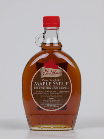 100% Canadian Pure Maple Syrup (250ml/500ml) - The Canadian Wild Rice Mercantile Ltd.