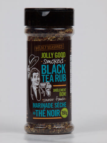 Wildly Seasoned Jolly Good Smoked Black Tea Rub - The Canadian Wild Rice Mercantile Ltd.