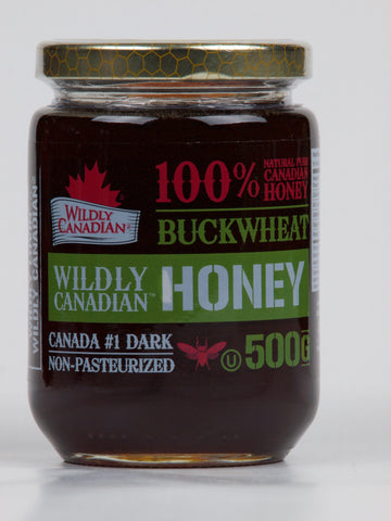 Non-pasteurized Buckwheat Honey - The Canadian Wild Rice Mercantile Ltd.