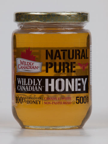 Natural Liquid Honey Non-Pasterurized (1kg /500g) - The Canadian Wild Rice Mercantile Ltd.