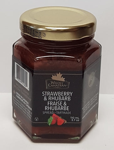 Strawberry and Rhubarb Spread (Gift Size 110mL)