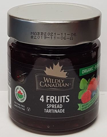 4 Fruits Spread - Organic