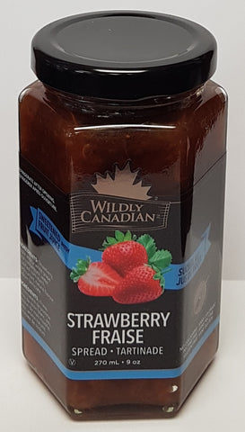Strawberry Spread (sweetened with real fruit juice)