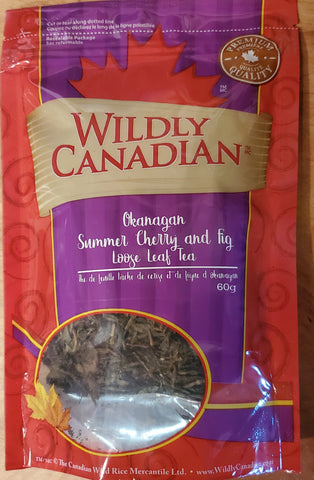 Okanagan Summer Cherry and Fig Loose Leaf Tea