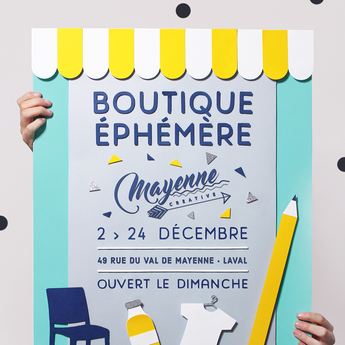 Pop up store de Laval (53)  // du 2 au 24 décembre