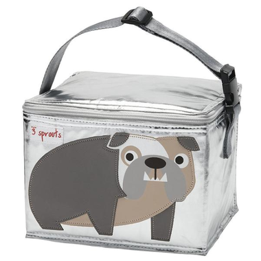 3 Sprouts Lunch Bag - Bulldog