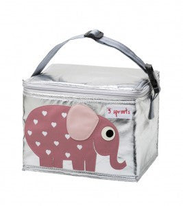 3 Sprouts Lunch Bag - Elephant