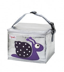 3 Sprouts Lunch Bag - Snail