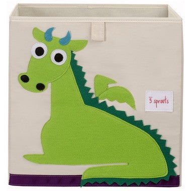 3 Sprouts Storage Box - Dragon