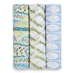 Aden + Anais Bamboo Swaddling Wraps - Wild One 3 pack