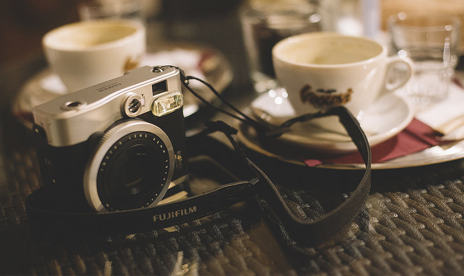 Coffee + Instax = Perfection