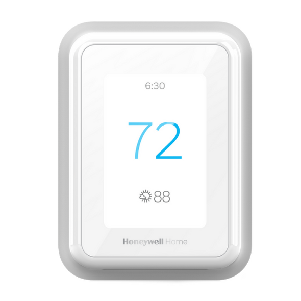 White Honeywell T9 thermostat