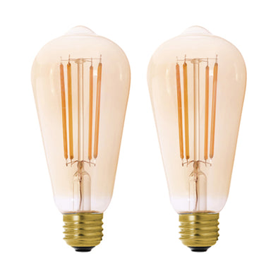 Two MaxLite filament bulbs shown side by side.