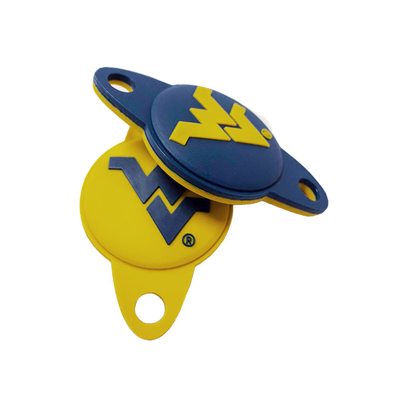 WVU Logo Navy/Gold