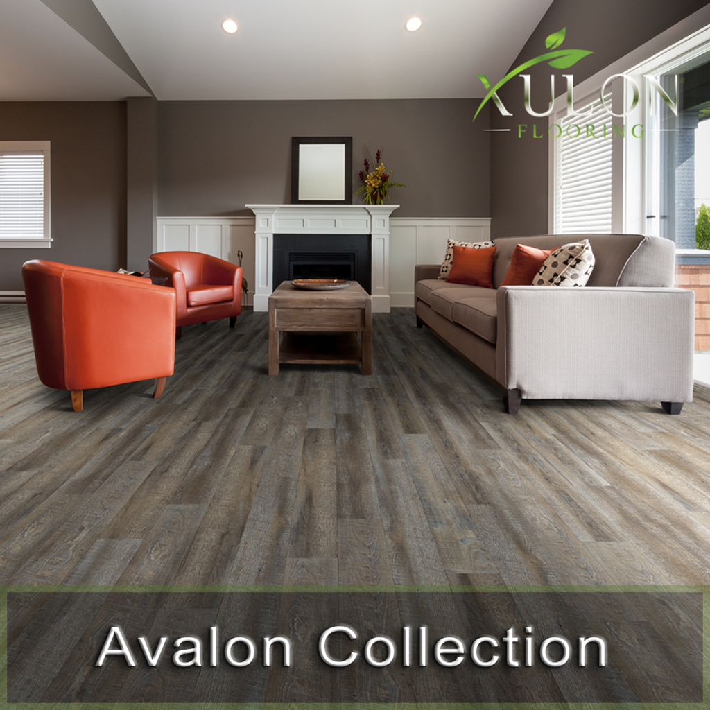 Xulon Flooring-Avalon Collection-Glue Down Waterproof Wood Plank Flooring