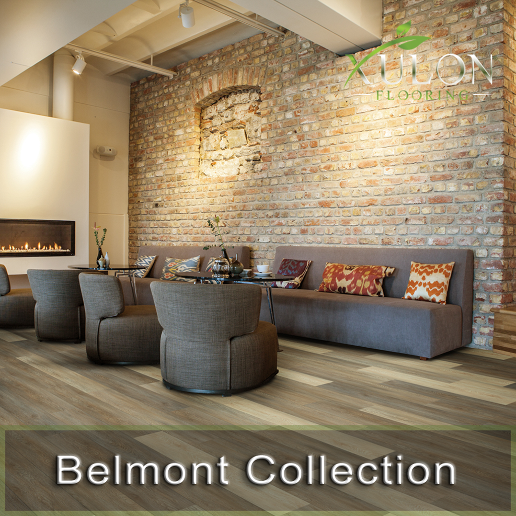 "Xulon Flooring-Belmont-7.2"" wide-12 mil-w/pad backing-Waterproof Floors"