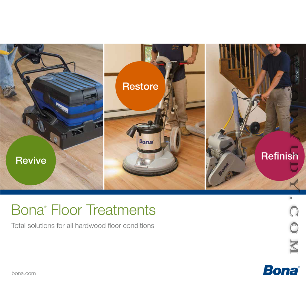 Bona Hardwood Flooring Treatment Brochure