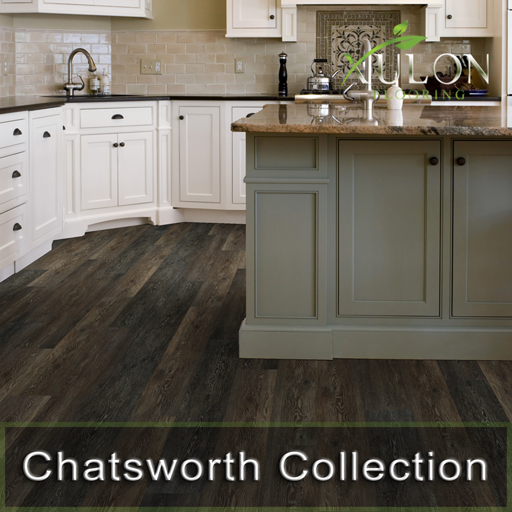 "Xulon Flooring-Chatsworth-7.24"" wide-30 mil w/cork backing-Waterproof Floors"