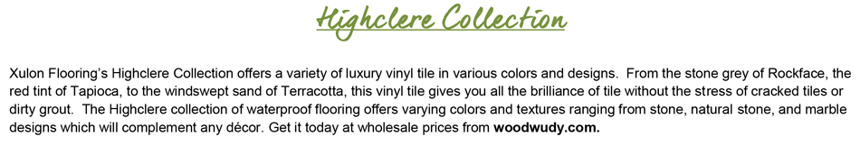 "Highclere-18""x18""-12mil-Luxury Vinyl Tile"