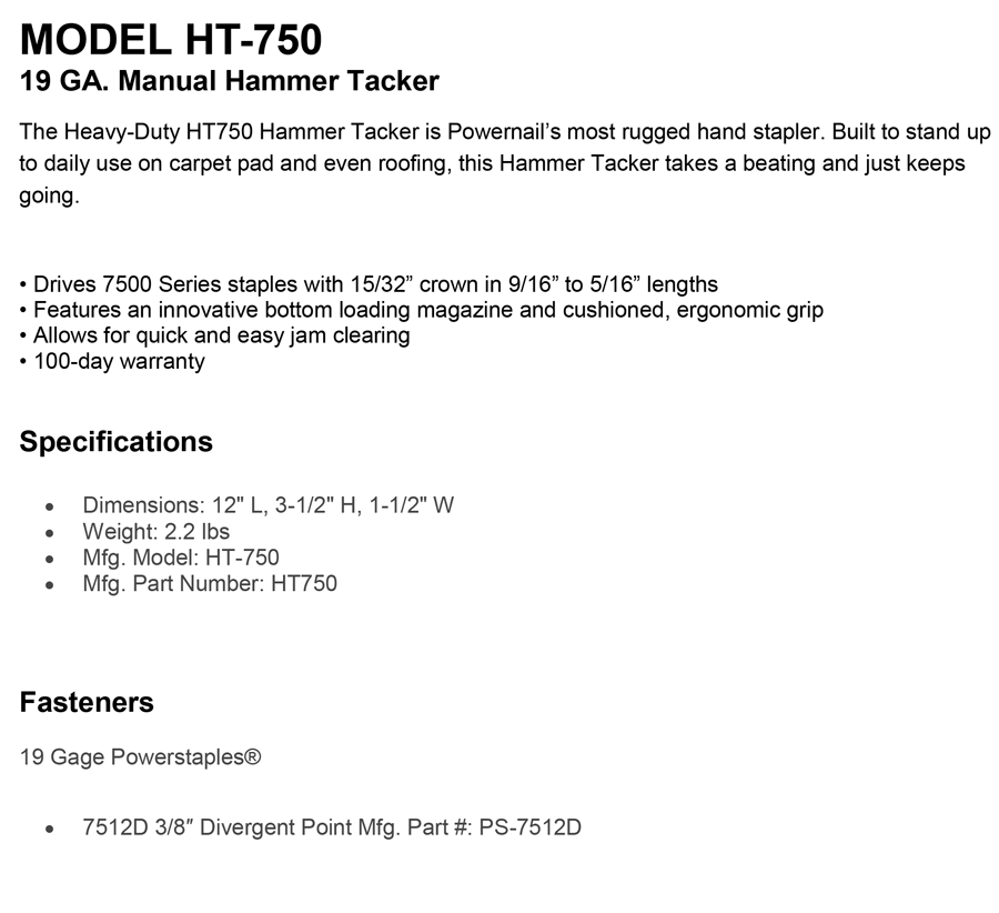Model-HT-750-19-GA.-Manual-Hammer-Tacker