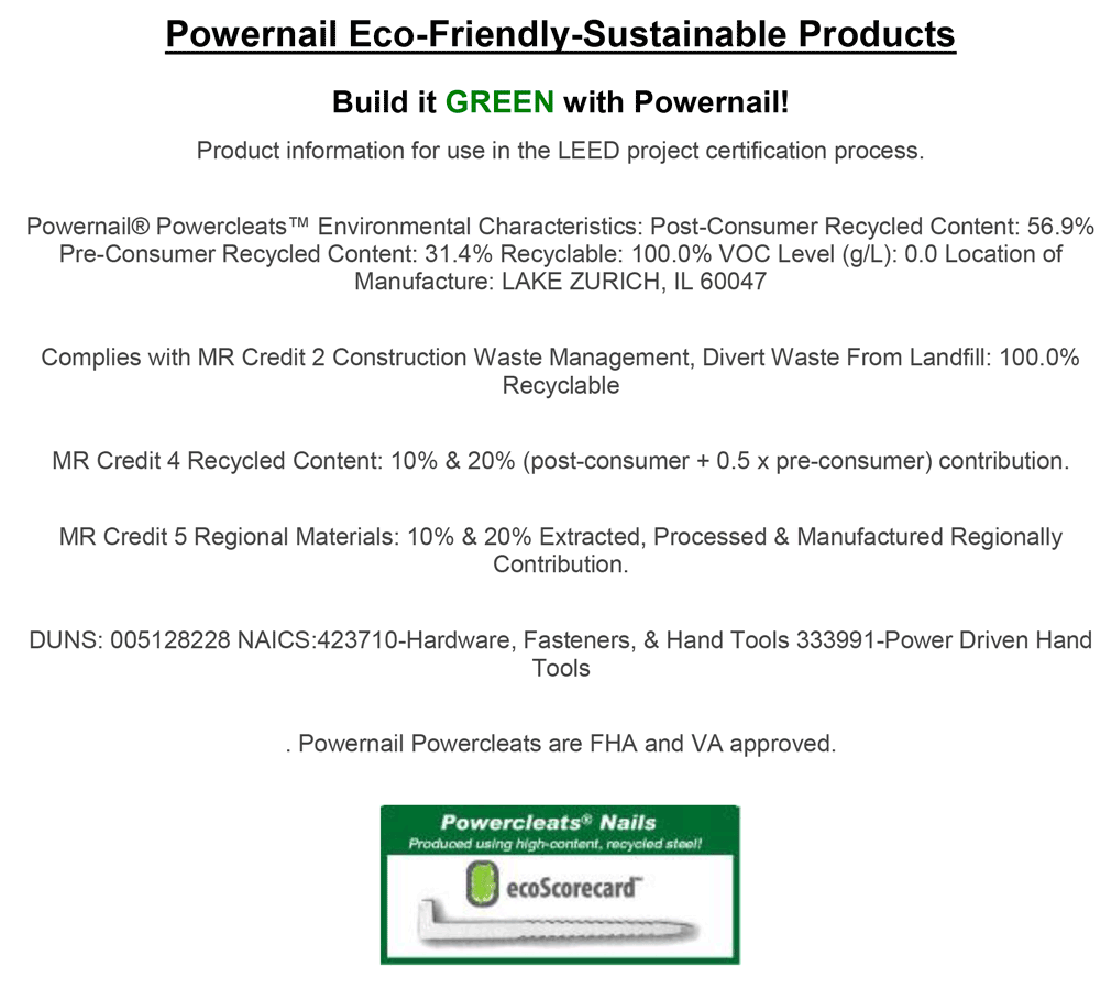 Powernail-Eco-Friendly-Sustainable-Products-