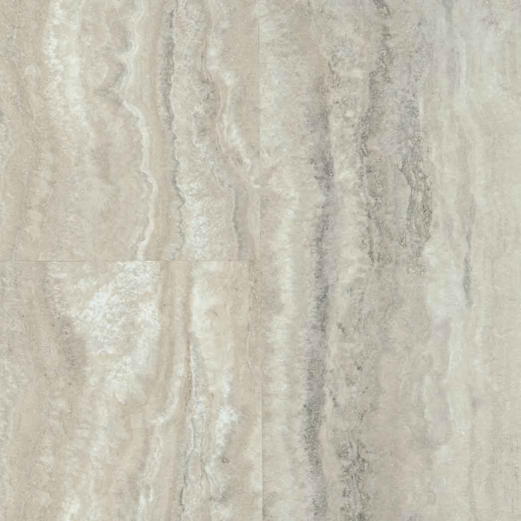 Armstrong LUXE Tile FasTak 12x24 Piazza Travertine A6703 Dovetail